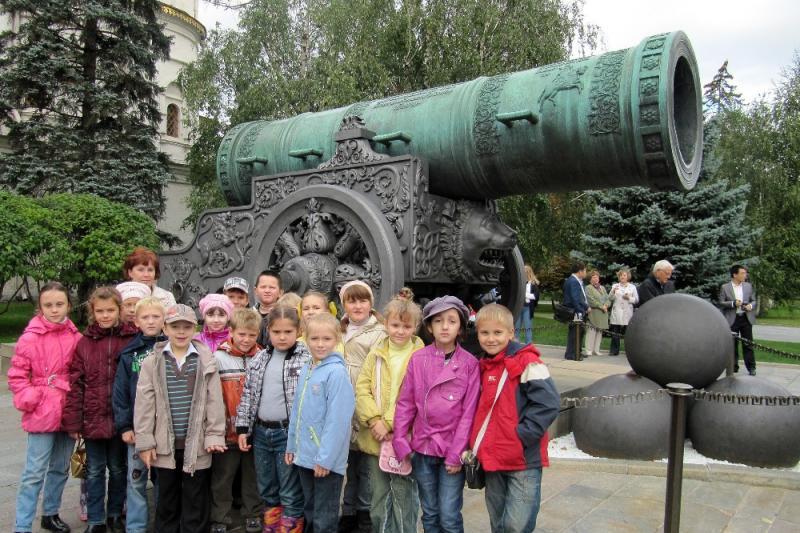 Тур в Москву для школьников